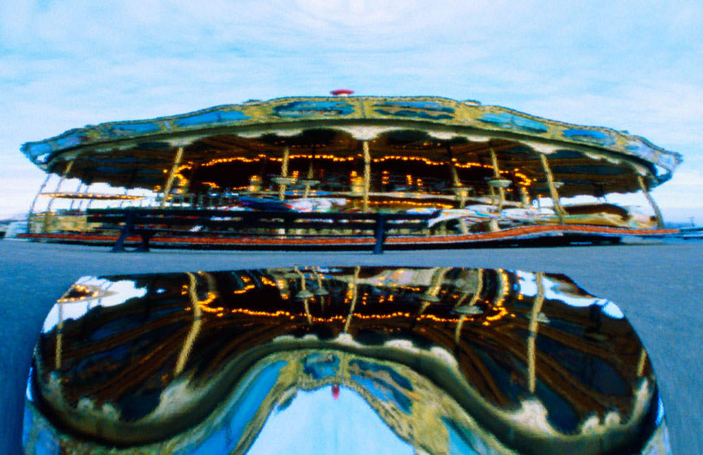 "Le Carrousel en Paris 15.5""x24"""